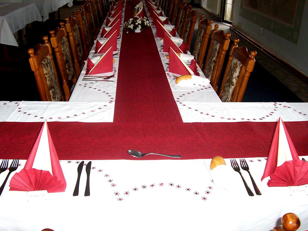 Svatební hostina U Rytíře Lochoty